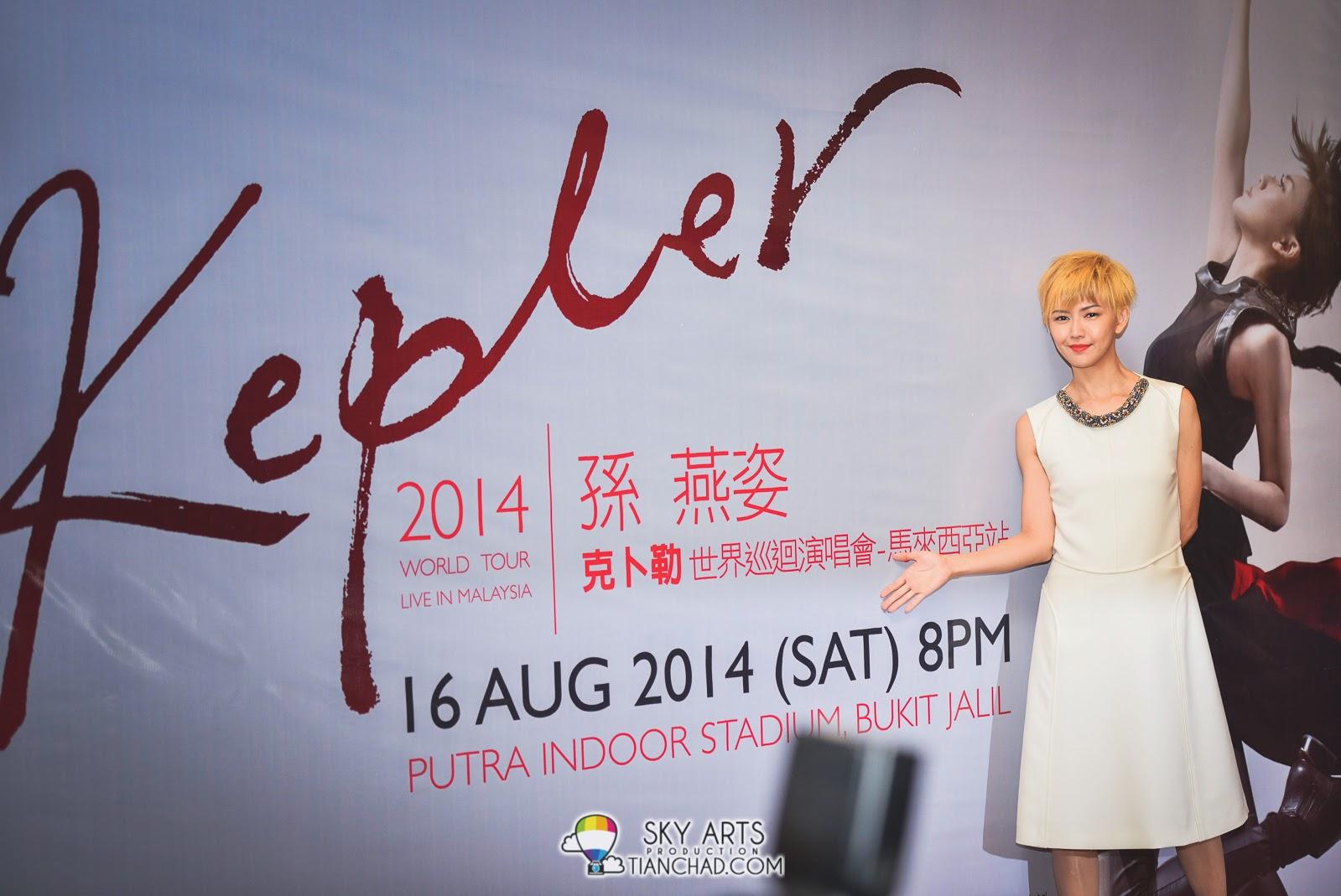 Stefanie Sun Kepler Live in Malaysia 2014 《孙燕姿2014克卜勒世界巡回演唱会》- 马来西亚站
