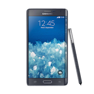 Samsung Galaxy Note Edge Black Smartphone