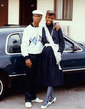 Sista & Fresh Dre..Rememba da 80's Adidas sweatsuit with argyle print (LOTTO's)!