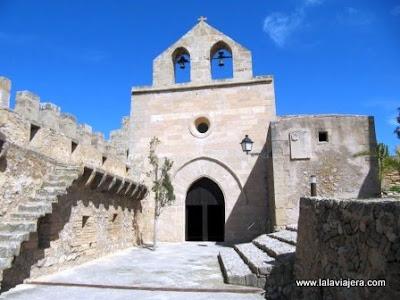 Iglesia Castillo Capdepera, Mallorca