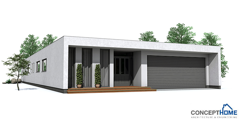 Australian house plans contemporary house plan co105 for One level modern house plans