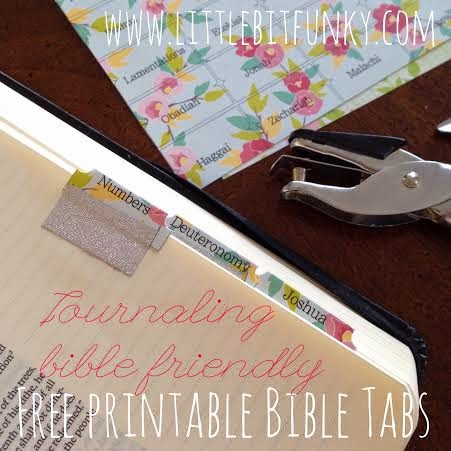 photo relating to Printable Bible Tabs identify Very little Little bit Funky: 20 moment crafter - Journaling Bible tabs