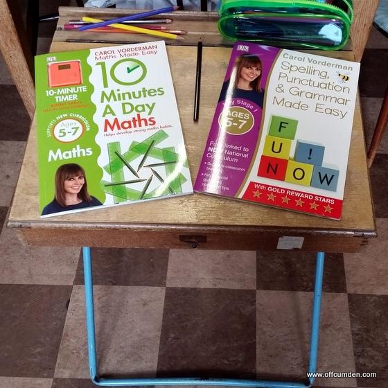 DK Carol Vorderman books