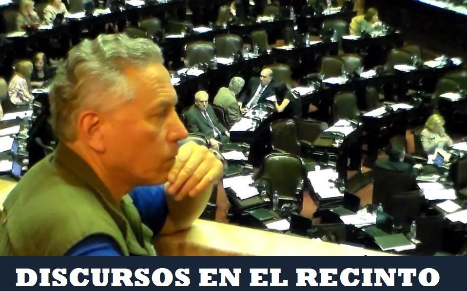 DISCURSOS EN EL RECINTO