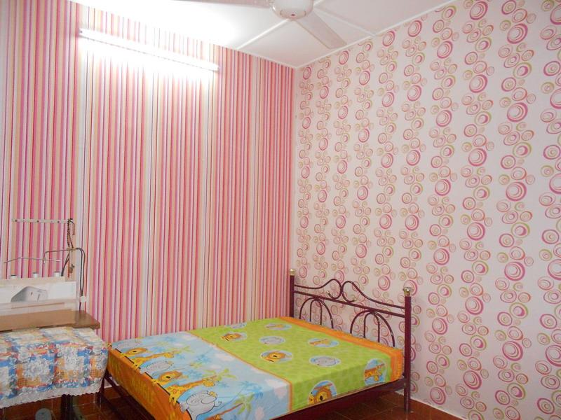 deco wallpaper bilik tidur