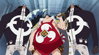 One Piece Episode 519, The Navy Has Set Out! The Straw Hats in Danger!, 海軍出動 狙われた麦わらの一味, pacifista