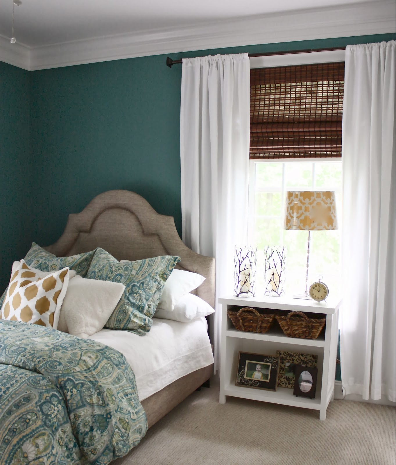 the yellow cape cod bedroom makeover before after a design board comes to life. Black Bedroom Furniture Sets. Home Design Ideas