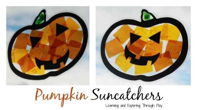 Halloween Suncatcher Crafts