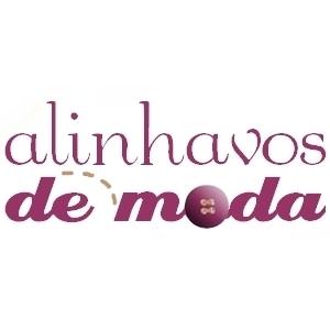 Novo logo, logotipo ou logomarca do Alinhavos de Moda