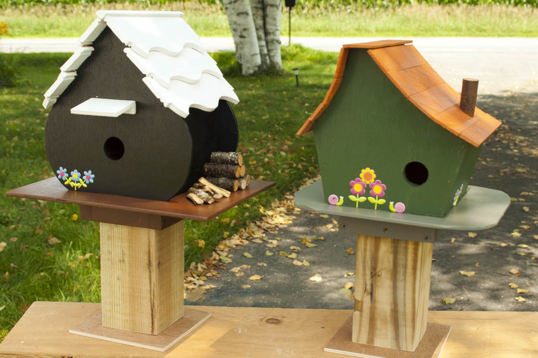 Designing for wood birdhouse designs for Best birdhouse designs