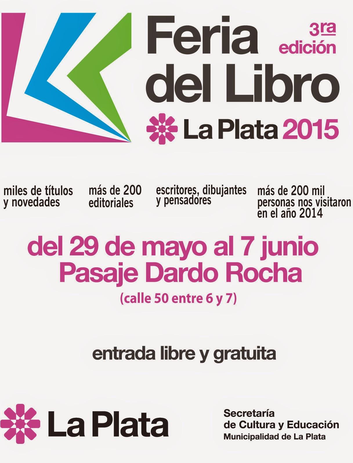 FERIA DEL LIBRO CIUDAD DE LA PLATA