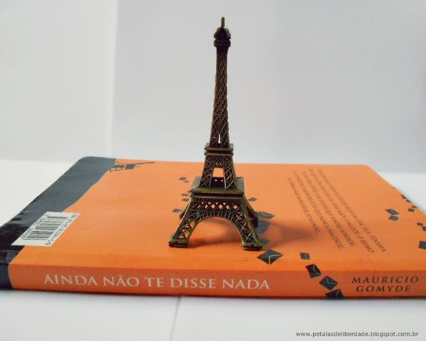 livro, resenha, Ainda não te disse nada, autor brasileiro, Maurício Gomyde, romance nacional, Paris, sinopse, capa