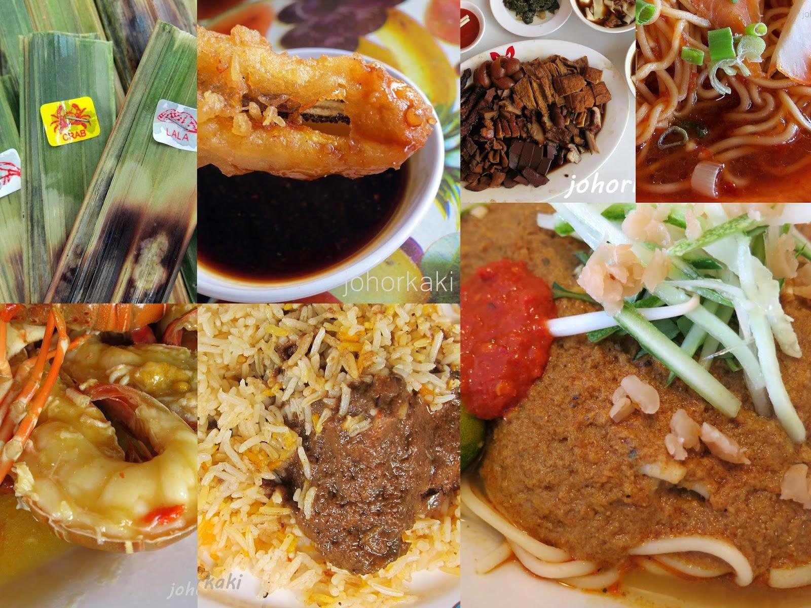 Johor kaki travels for food jb malaysia singapore taiwan for Cuisine kaki