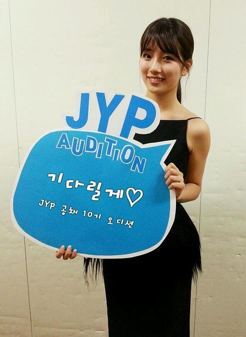 Suzy Promosikan Audisi JYP