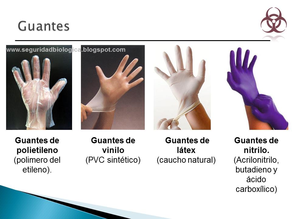 guantes desechables