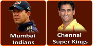 CSK Vs MI is on 26 May 2013.