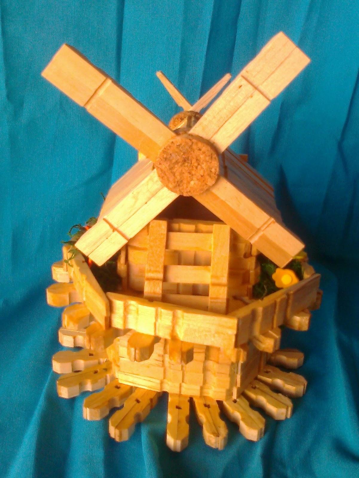 Manualidades mary manualidades con pinzas de la ropa - Trabajos manuales de madera ...
