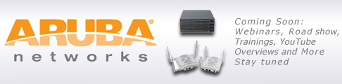 Streakwave becomes distributor for Aruba Networks
