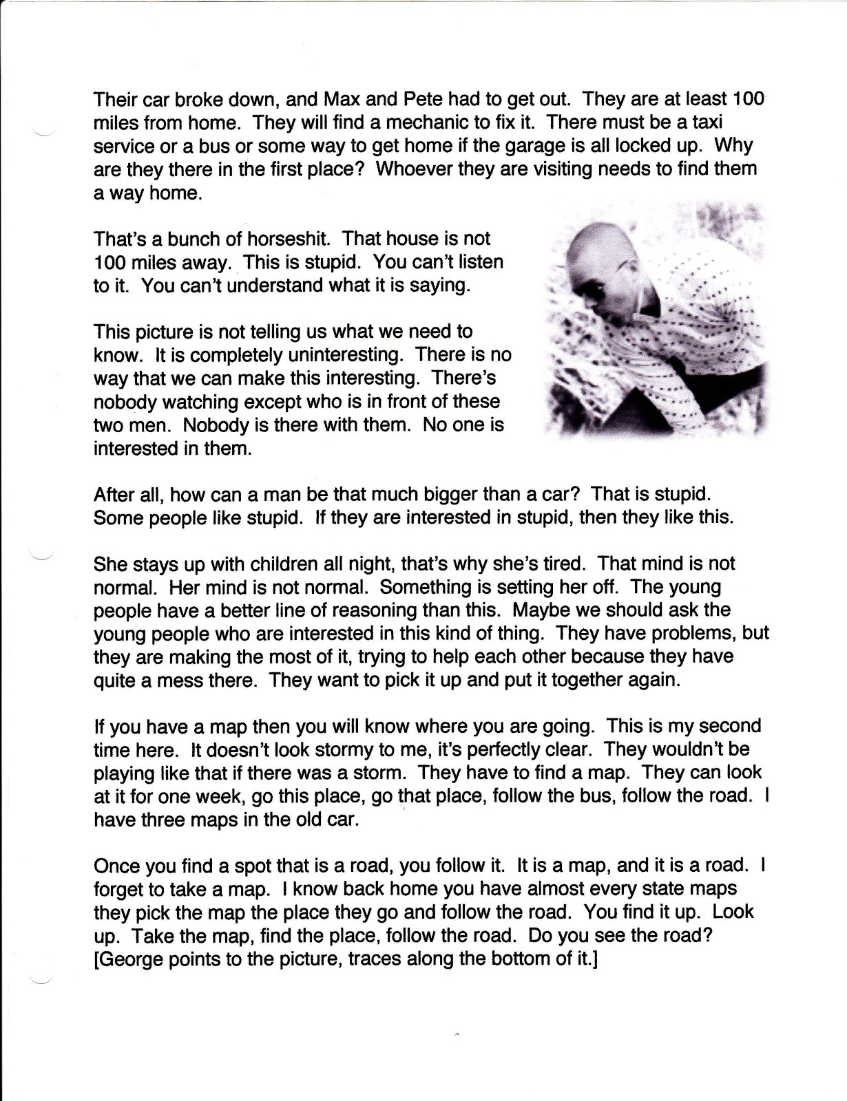 the wrong way home please click on the scanned page to enlarge for easier reading