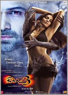 Filme Raaz 3 Magia Negra Dublado AVI DVDRip