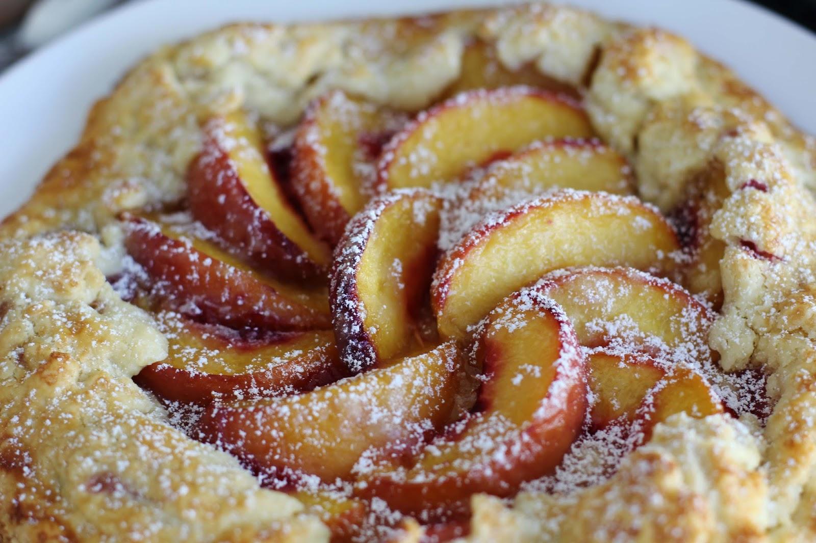 Sunday's recipe: peach galette   Styleseeking Zurich