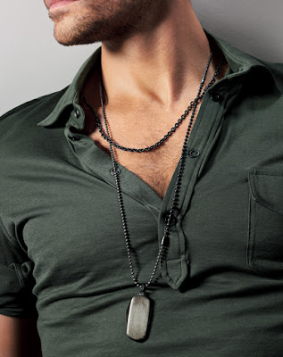 One Stylish Man Necklaces Not Just For Women