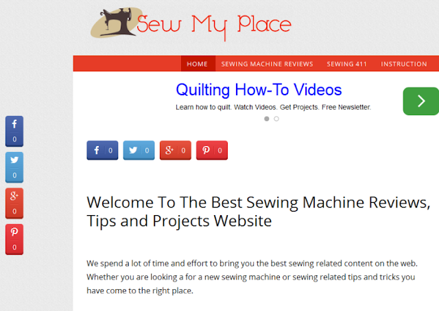 leading website for sewing-related articles