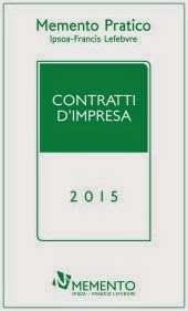 Memento Pratico - Contratti d'Impresa 2015