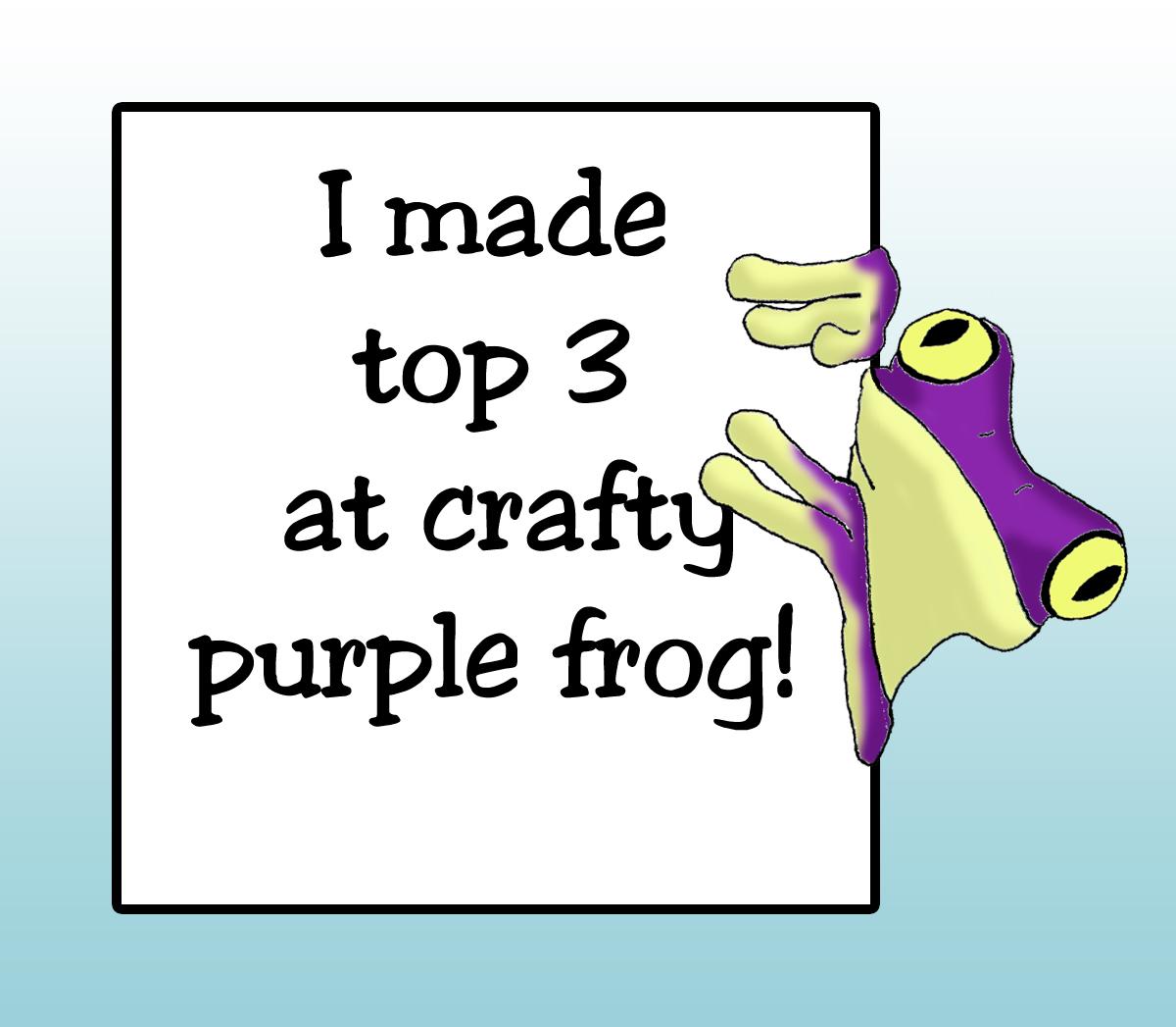 Topp 3 hos Crafty frog