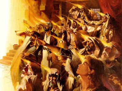 Gsja, gsja kemuliaan, melayani, roh kudus, menyala-nyala