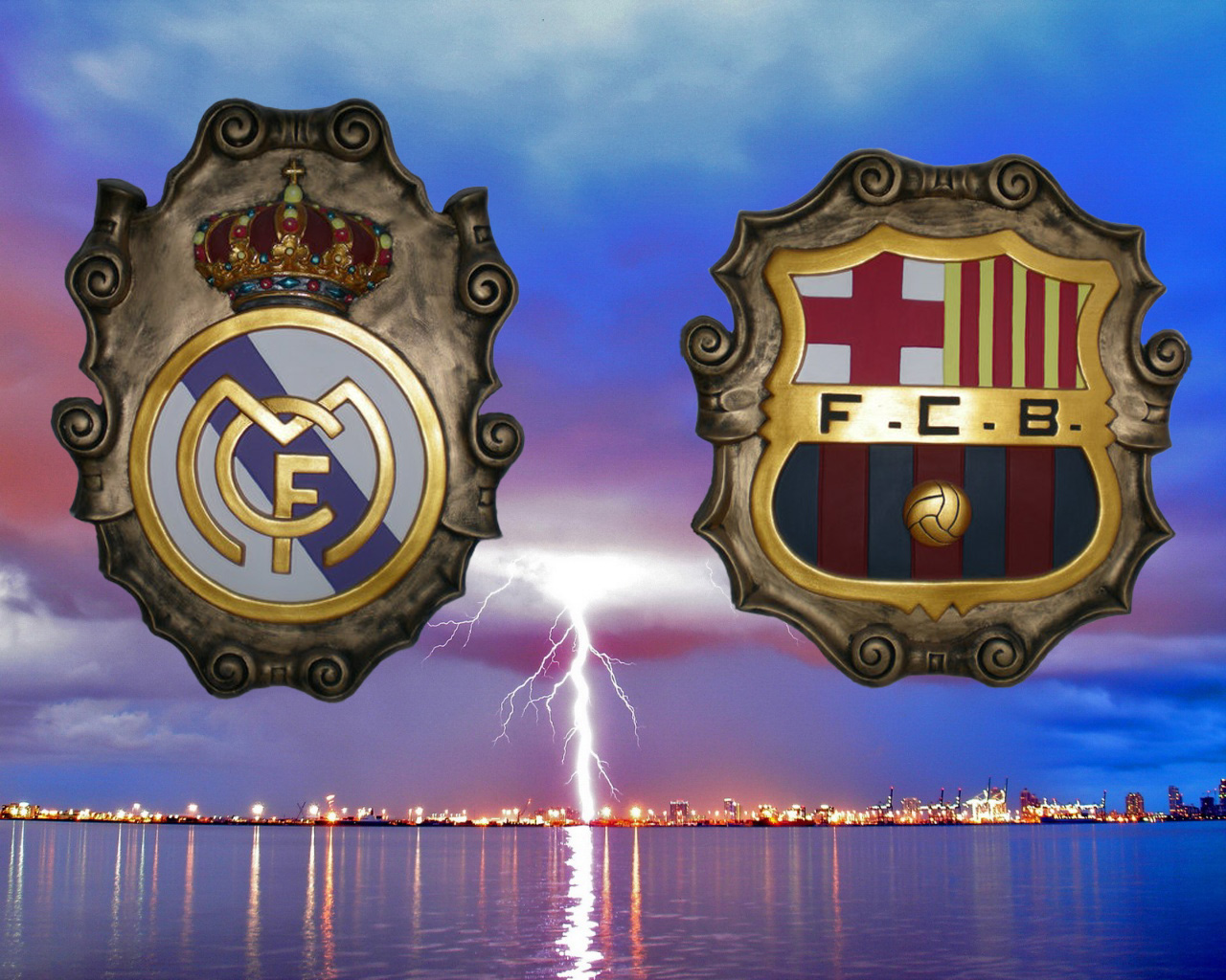 REAL MADRID Y FC BARCELONA BRILLAN