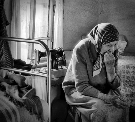 Резултат с изображение за самотная старая женщина