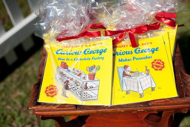 Karas Party Ideas Curious George 1st Birthday Party