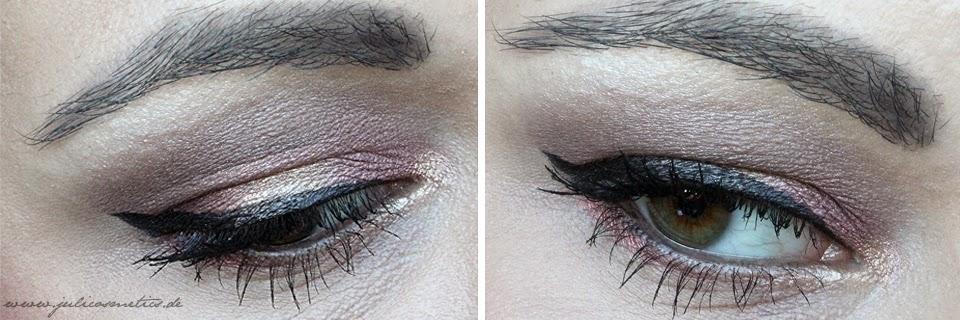 Augen Make-up Valentinstag