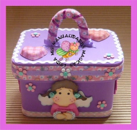 Cajas forradas con foami imagui - Manualidades cajas decoradas ...