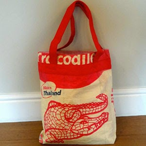 Ma Bicyclette: Buy Handmade | Christmas Gift Guide For Her - Recycled Cement Shopper Bag