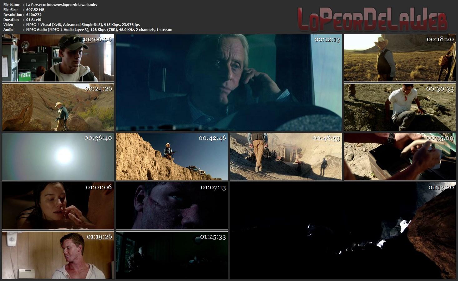 Caza bajo el sol(2014) DVDRip Latino