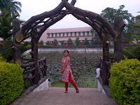 Courtpeta park, Courtpeta temple, Berhampur