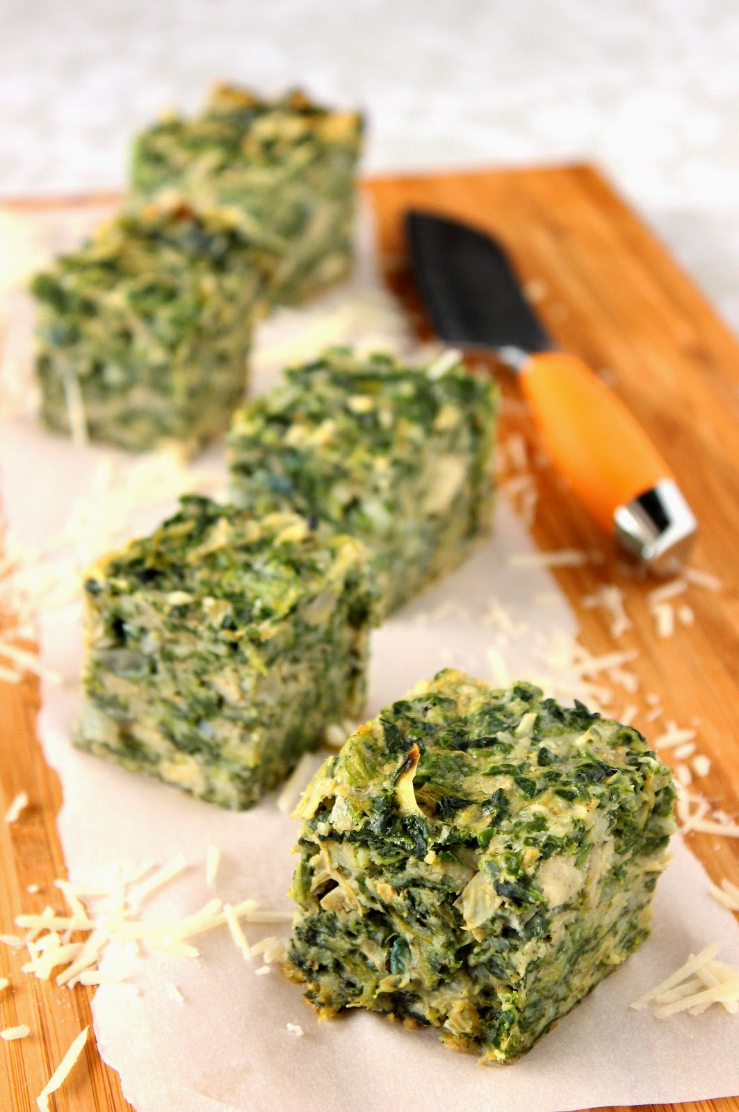 Spinach and Artichoke Squares Recipe
