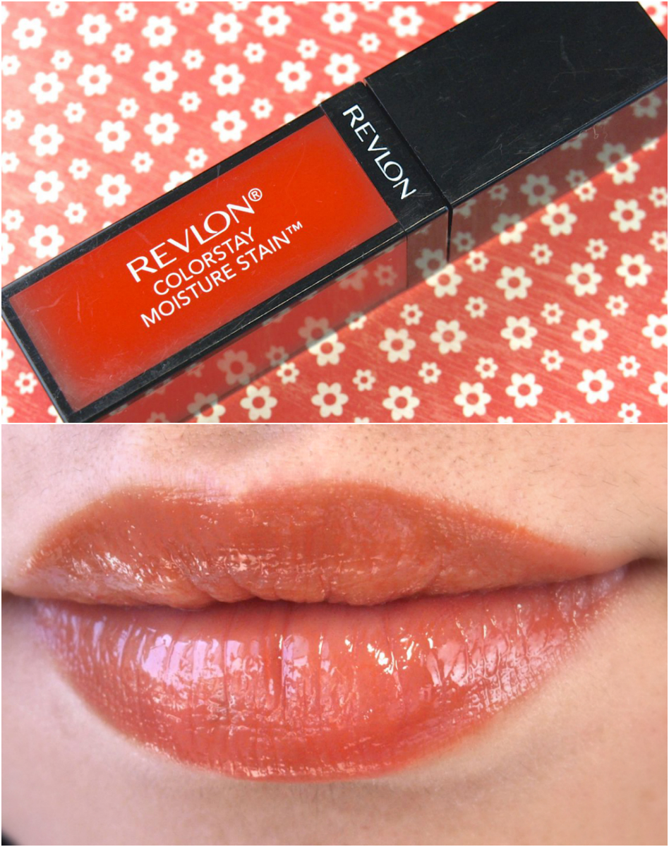 Revlon ColorStay Moisture Stain Review and Swatches Milan Moment