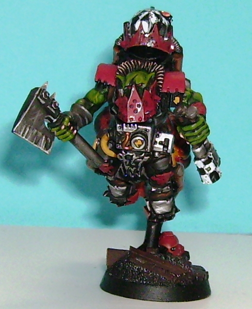 Musings Of A Smurf: On The Smurf Bench: Ork Storm Boyz