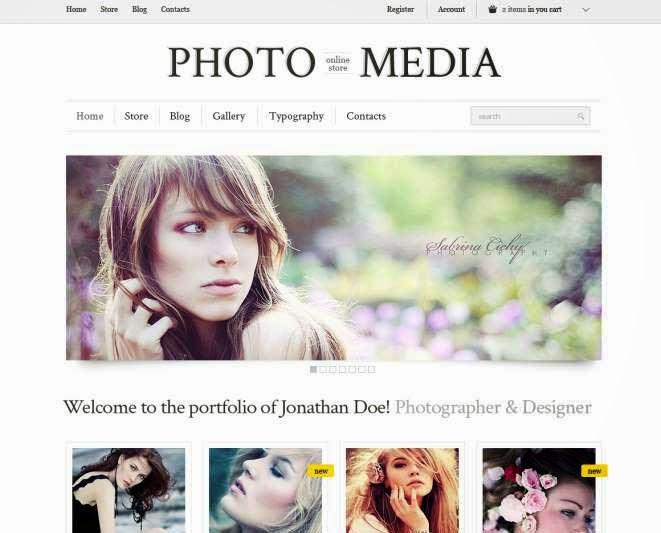 Phomedia Wordpress Theme - A WP E-Commerce theme