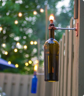 Kerajinan Tangan Dari Botol Bekas - Lampu Hias, Crafts from Used Bottle, Decorative Lighting From Bottles Used