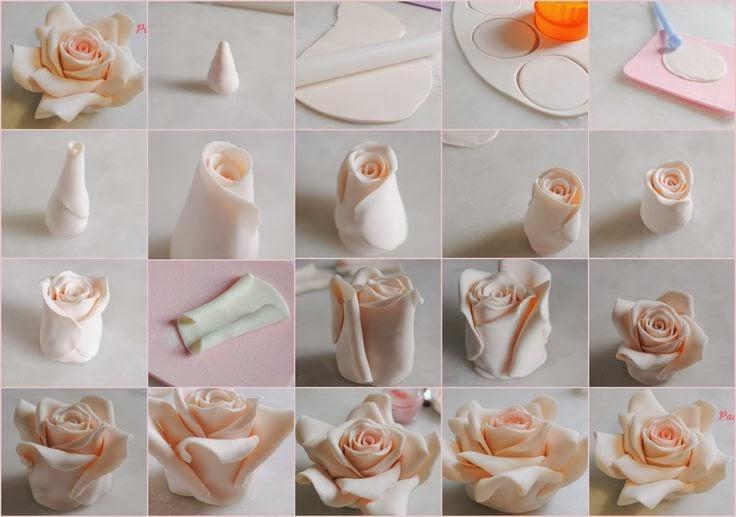 Как в домашних условиях сделать цветы на торт