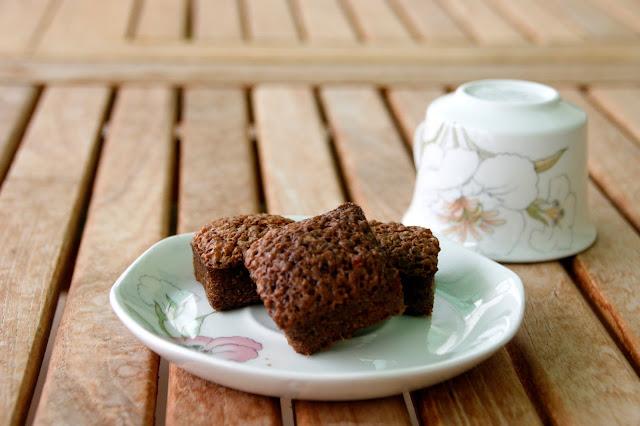 Recepta de brownie de caramel