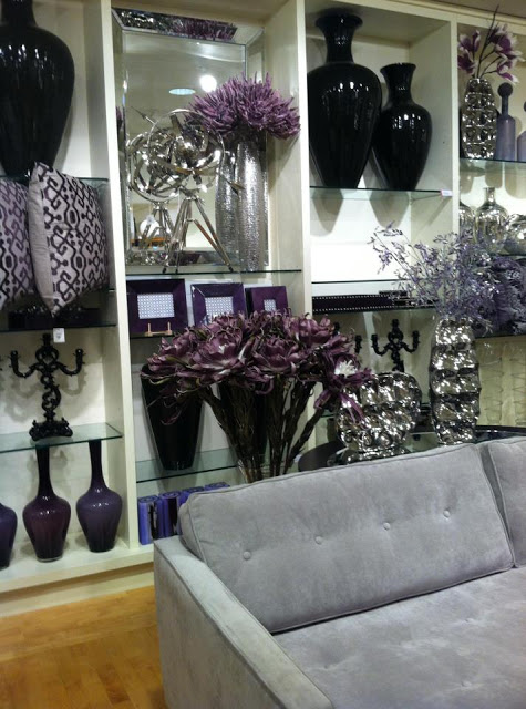 Focal point styling z gallerie scottsdale reopening - Aubergine accessories for living room ...