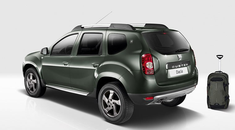 dacia launches special edition duster delsey 2013 garage car. Black Bedroom Furniture Sets. Home Design Ideas