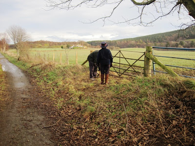 Deeside walks: the trail to Cambus o'May passes the souterrain