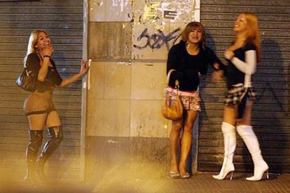 prostitutas transexuales en la calle prostitutas transexuales