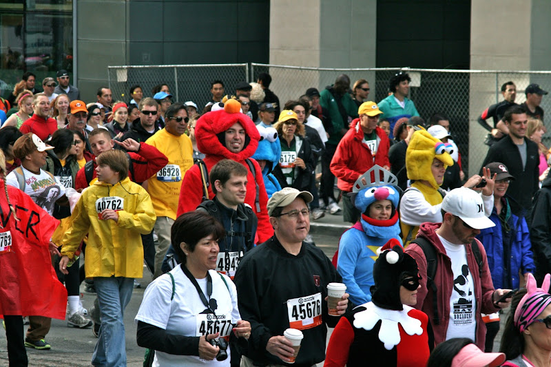 100th Bay to Breakers Sesame Street